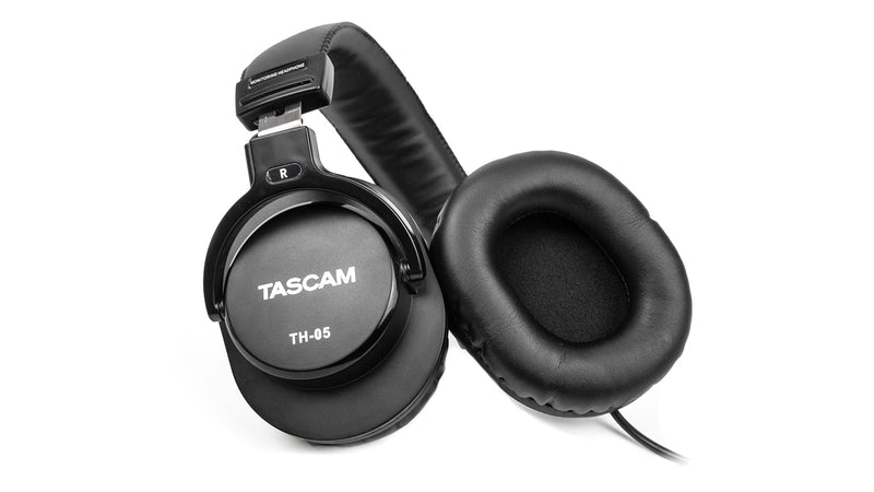 Tascam TH-05 Monitoring Headphones - Red One Music