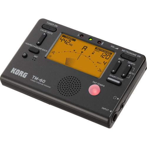 Korg TM60 Metronome Tuner Combo (Noir) - Red One Music
