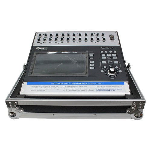ProX XS-QSCTMIX30 ATA-300 Style Flight / Road Case for QSC Touchmix 30 Pro Digital Mixer - Red One Music