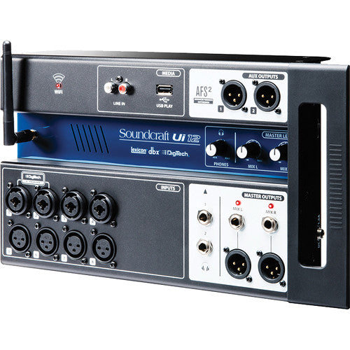 Soundcraft UI-12 12-Input Remote-Controlled Digital Mixer