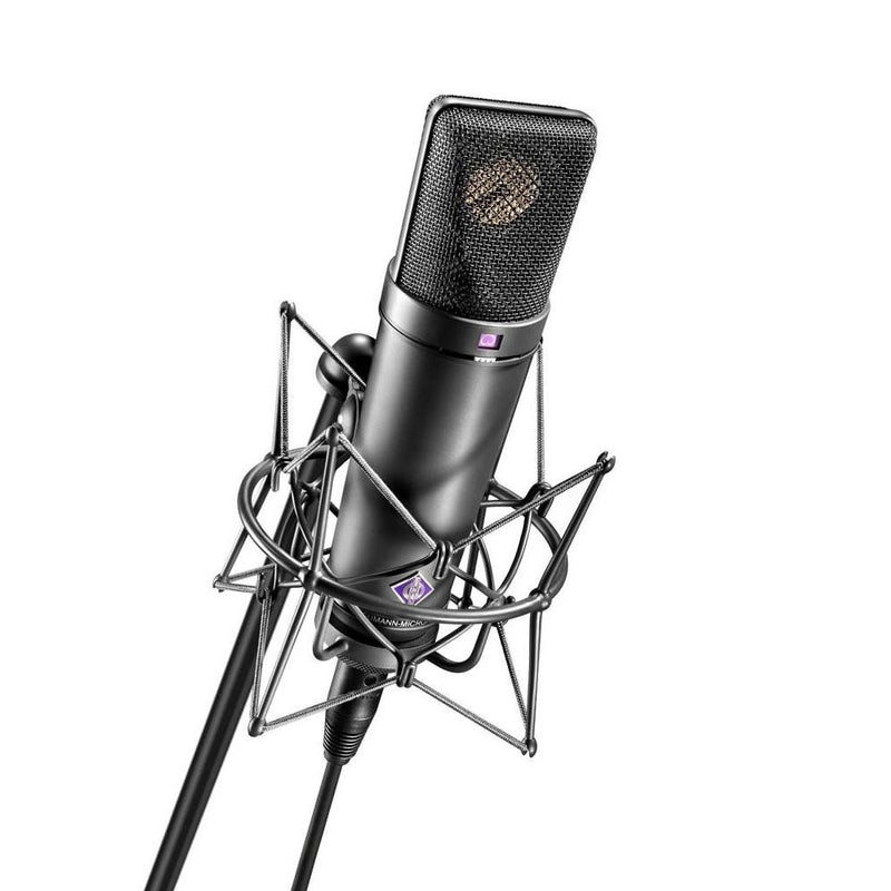 NEUMANN U 87 AI MT Studio Set - BLACK - Red One Music
