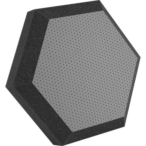 "Ultimate Acoustics UA-HX-12GR Hexagonal Foam Wall Panel - 12"" [2-Pack]"