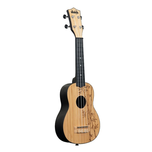 Kala UK-BAMBOO Ukadelic Bamboo Top Soprano Ukulele - Red One Music