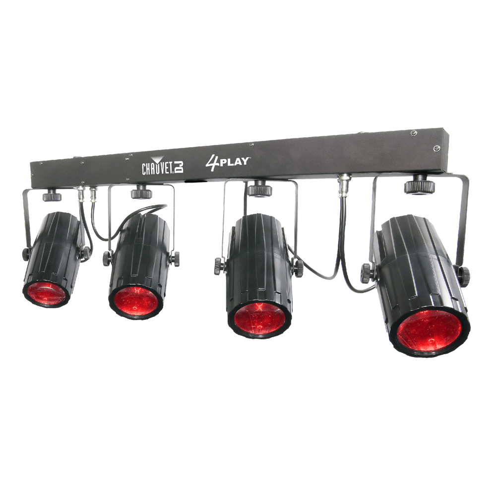 Chauvet 4Play Six-Channel Dmx-512 Led Beam Effect System