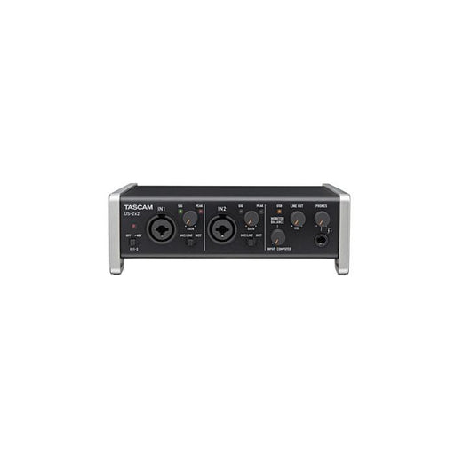 Interface Audiomidi Tascam US-2X2 2 entrées 2 sorties - Red One Music