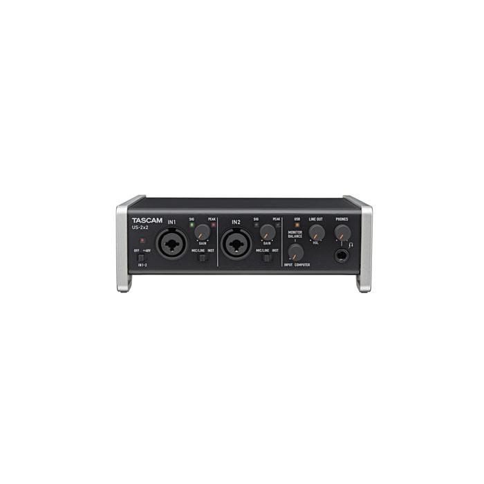 Tascam Us-2X2 2-In 2-Out Audiomidi Interface