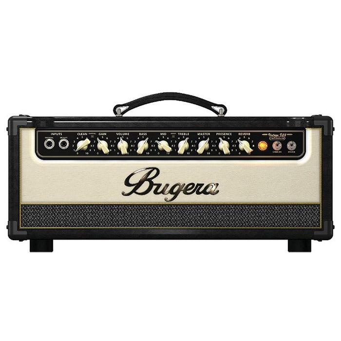 Bugera V55Hd Infinium Demo 55-Watt Vintage 2-Channel Tube Amplifier Head - Red One Music