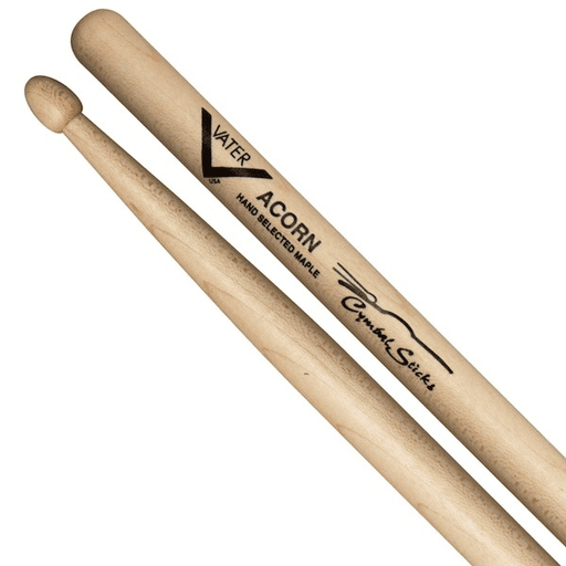 Vater Vmcaw Cymbal Stick Acorn Wood Tip - Red One Music