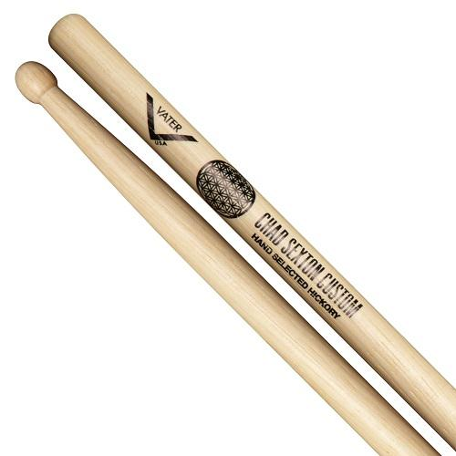 Vater Vhsexton Chad Sexton Custom Drumsticks - Red One Music