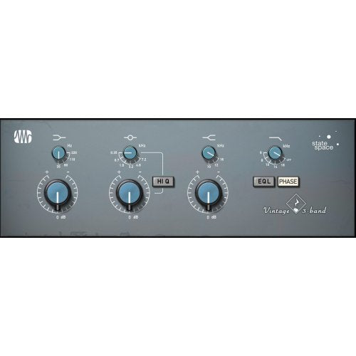 Presonus FAT-VINTAGE-3 Vinrtage 3-Band EQ Plug-In (Download) - Red One Music