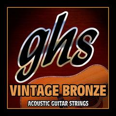 Ghs Vintage Bronze - Extra Light Scale 011-050 - Red One Music
