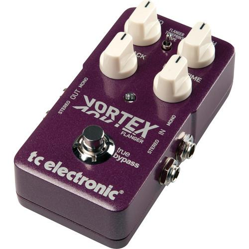 Tc Electronic Vortex Flanger Stereo Flanger Guitar Pedal - Red One Music