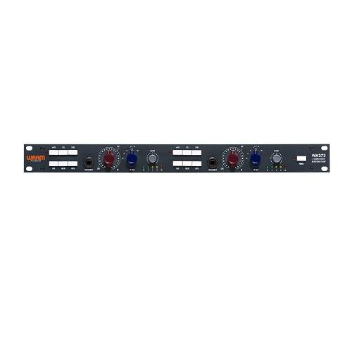 WARM AUDIO WA273  TWO CHANNEL 1073-STYLE SOLID STATE MIC PREAMP