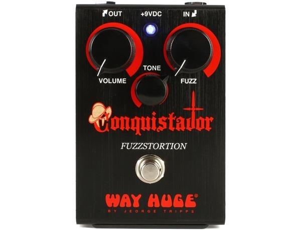 Way Huge Whe406 Conquistador Fuzzstortion Guitar Effect Pedal - Red One Music
