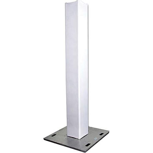 Standz White Scrim 8 Feet Stands White Scrim - Red One Music