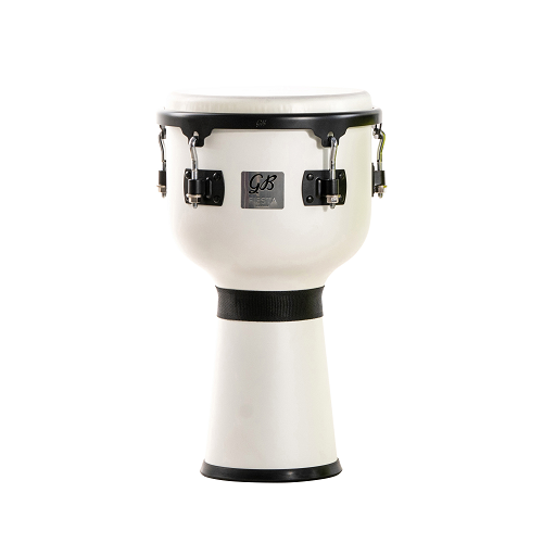 Gon Bops 10'' Fiesta White Magic Djembe