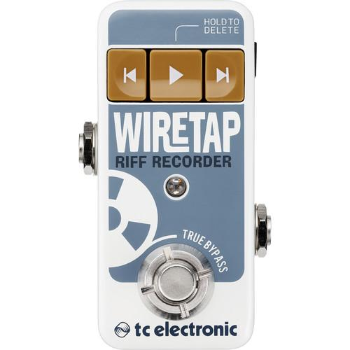 Tc Electronic Wiretap Riff Recorder Recorder Pédale - Red One Music