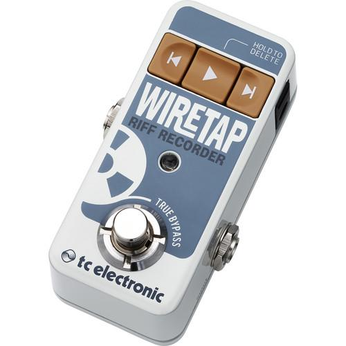 Tc Electronic Wiretap Riff Recorder Recorder Pedal - Red One Music