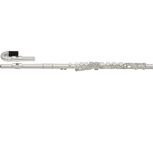 Stagg Ws-Fl221S  C Flute 2 Head Joints Wcurved Closed Holes Offset G Split E