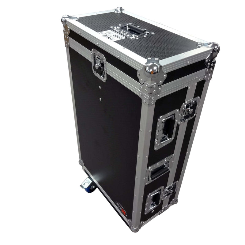Prox Xs-Midm32Rdhw Midas M32R Flight Case W Doghouse  Wheels - Red One Music