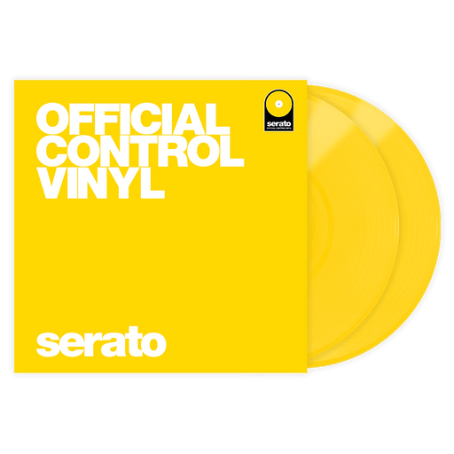 Serato Vinyl Performance Series Pair - Pressage de vinyle de contrôle jaune 12 '- Rouge One Music