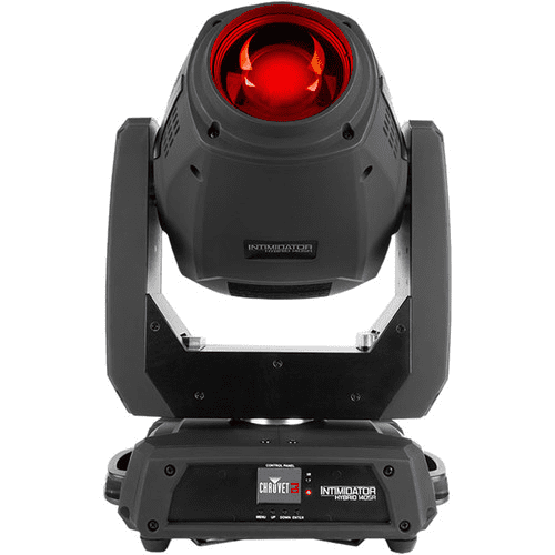 Chauvet Intimidator Hybrid 140Sr True Hybrid Moving Head Fitted With An Intense 140 W Discharge Light Engine