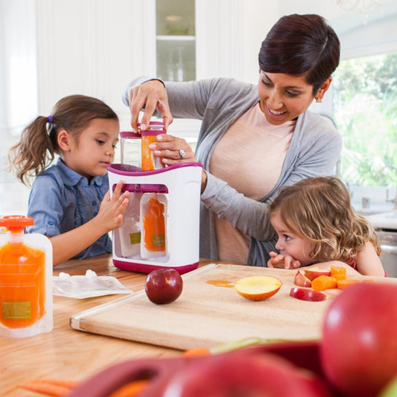 Squeeze Station™ Baby Food Dispenser