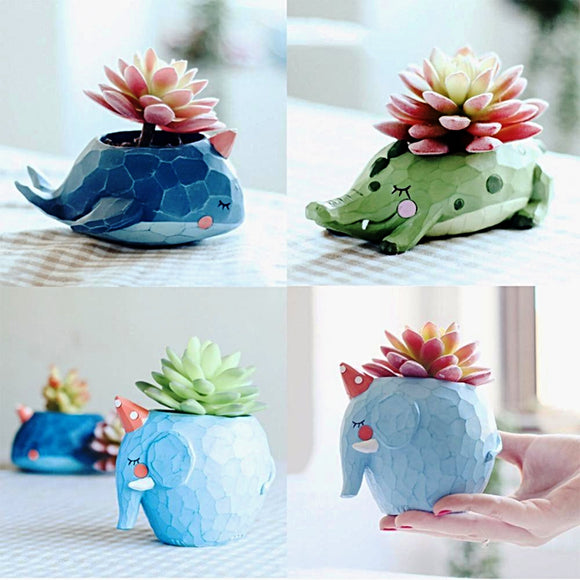 Adorable Animal Plant Pots