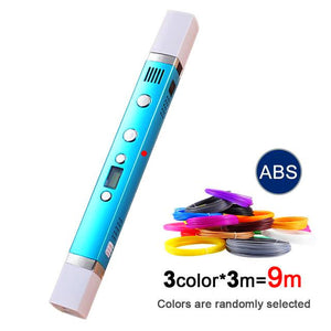3D Drawing Pen + FREE ABS Filaments [9 Meters]