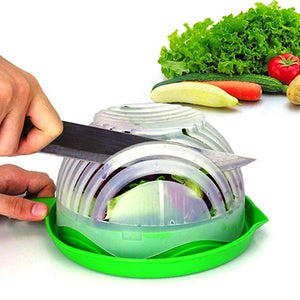 60 Second Salad Cutter Bowl [New & Improved]