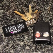 Enamel Keychains (Mini Love Cards) Signature Love Design w FREE Shipping Worldwide - ILOVEYOUPASSITON