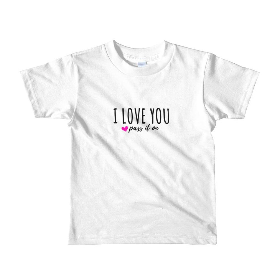 Kids Shirt (Signature Love Design) by American Apparel - ILOVEYOUPASSITON