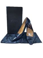 GUCCI Brown Leather Heel with Tassel Box and Dust Bag Size 7
