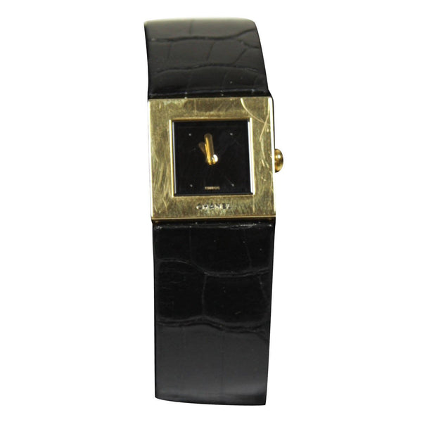CHANEL 1993 Lady's 18KT Yellow Gold Alligator Band Wristwatch
