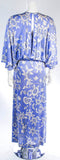 EMILIO PUCCI Periwinkle Blouse and Dress Ensemble Size 10