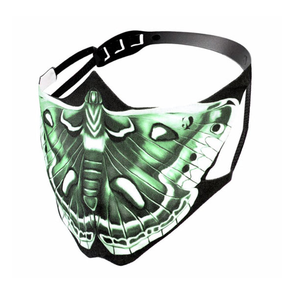 THE CHRYSALIS LAB Green Cecropia Moth Mask