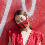 THE CHRYSALIS LAB Red Butterfly Mask