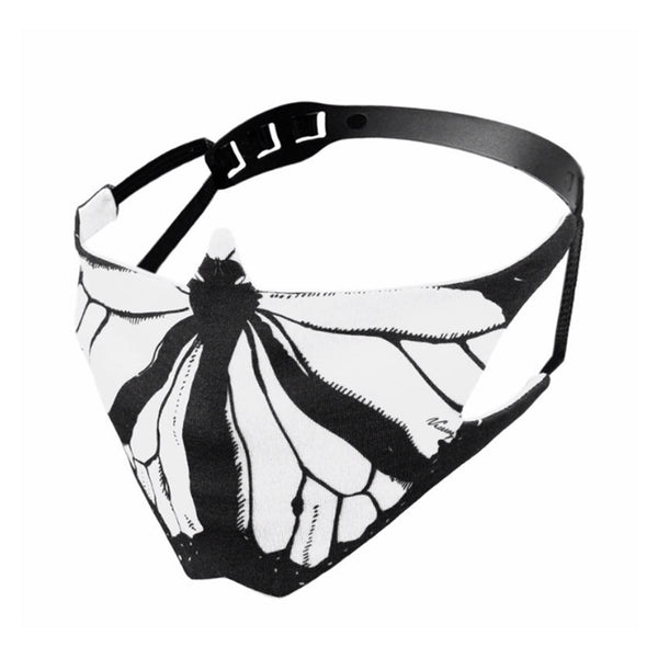 THE CHRYSALIS LAB White Butterfly Mask