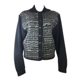 YVES SAINT LAURENT Rive Gauche Long Sleeve Wool Cardigan Size 42