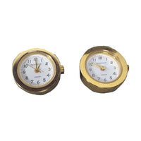 Tateossian London Gold Tone Watch Cuff Links
