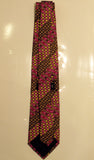EMILIO PUCCI Men's Multi Color Silk Neck Tie with Polka Dots  57 in.