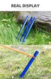 Aluminum Tent Stake with Rope