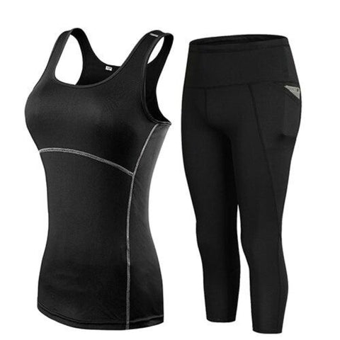 Yoga Set Tracksuit & Women Leggings
