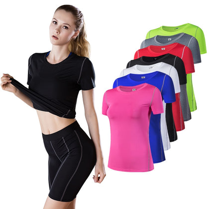 Running T-shirts Female Sports Top