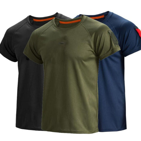 Men Tactical Breathable T-Shirt