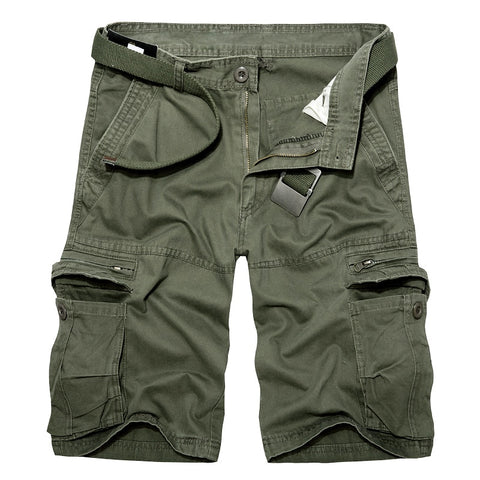 Multi-Pocket Shorts