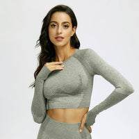 Sports T-shirt Workout Tops For Women