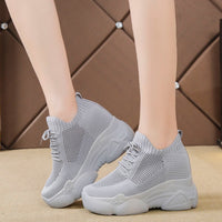 2020 New High Heel Platform Sneakers