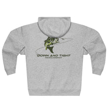 Load image into Gallery viewer, Largemouth Bass Zip Hoodie