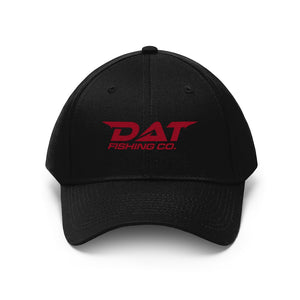 Red DAT Embroidered Baseball Hat